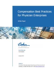 Compensation Best Practices for Physician Enterprises