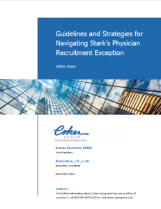 Guidelines and Strategies for Navigating Stark's Physician Recruitment Exception